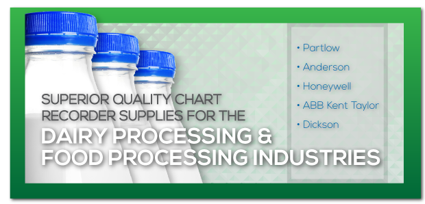 Superior Quality Chart Recorder Supplies For The Dairy Processing & Food Processing Industries